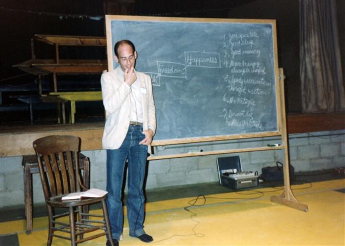 Macrobiotic teacher